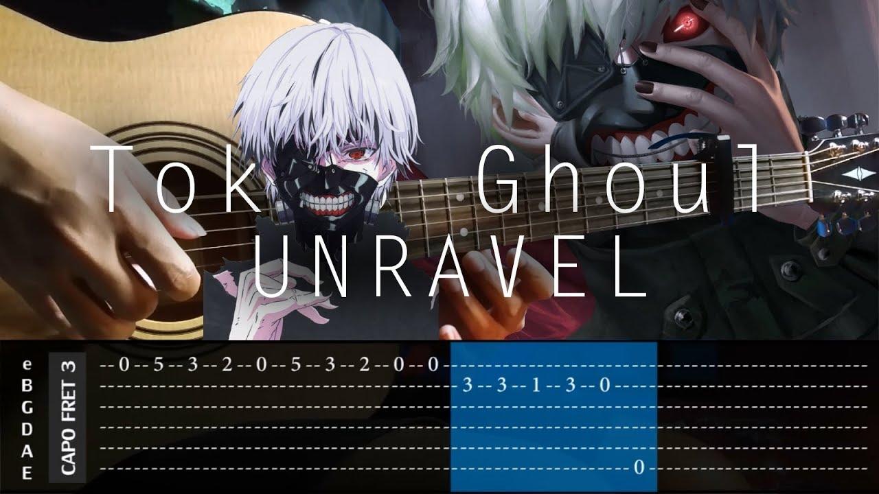 tokyo ghoul unravel vvxo