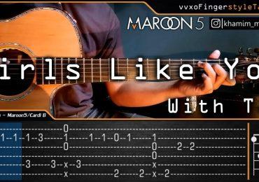 maroon 5 - gilrs like you ft cardi b