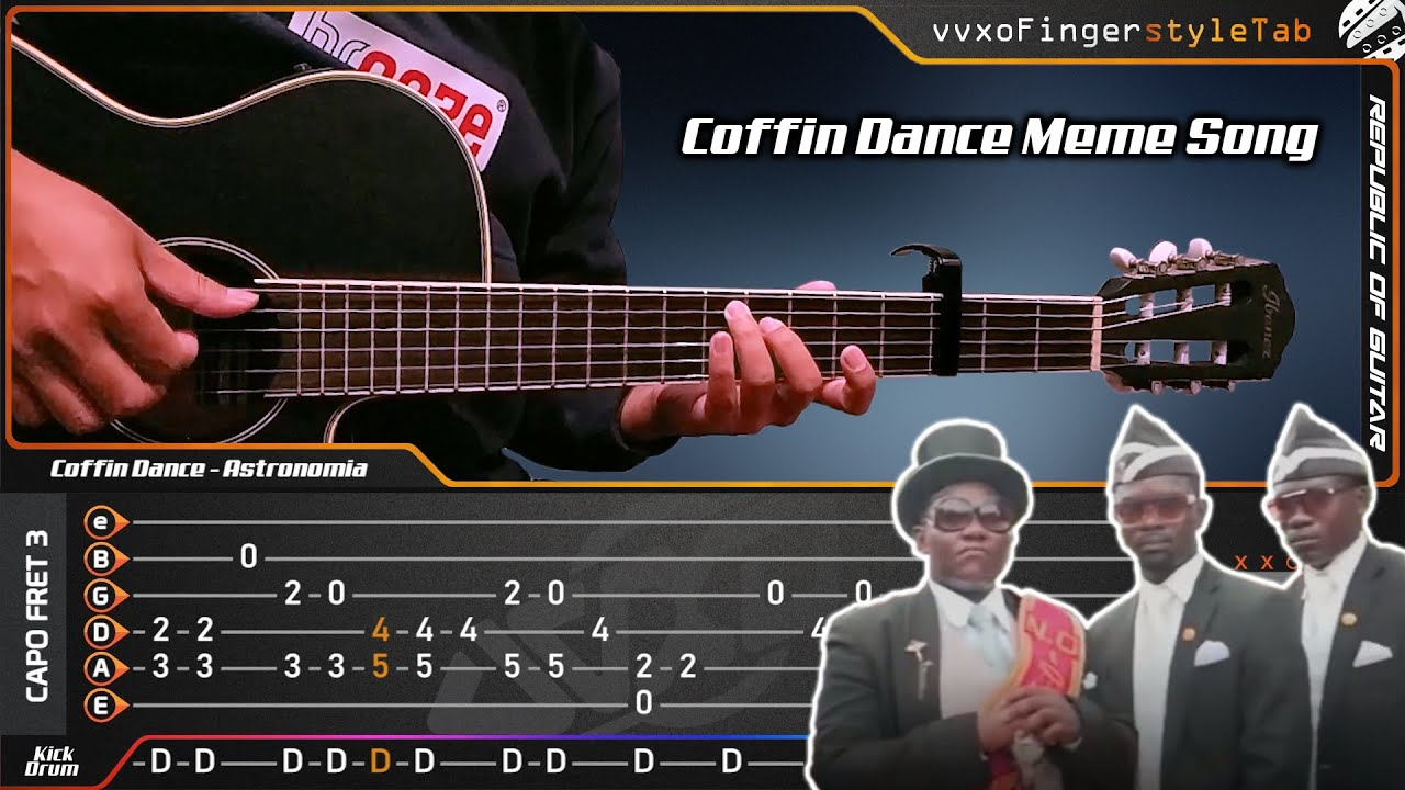 Astronomia (Coffin Dance Meme Song) - Fingerstyle - Cover